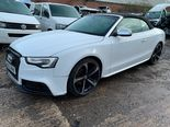 2013 AUDI A5 2.0 TDI S LINE AUTO CABRIOLET RS5 REPLICA DAMAGED REPAIRABLE CAT N